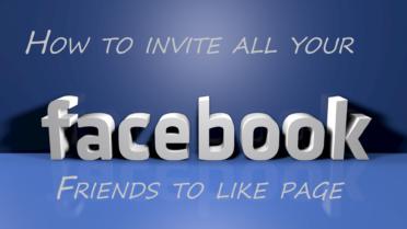 Invite All Your Facebook Friends