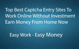 Best Captcha Entry Sites