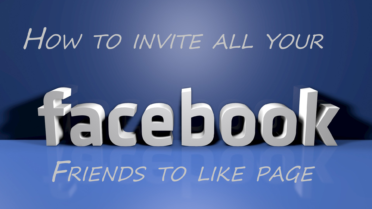Invite All Your Facebook Friends