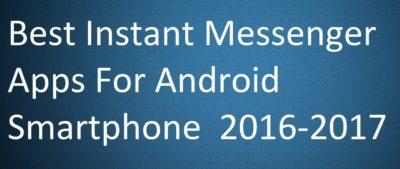 Instant Messenger Apps